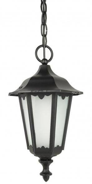 Lampa wisząca klosz ozdobny Retro Midi K 1018/1/M czarny