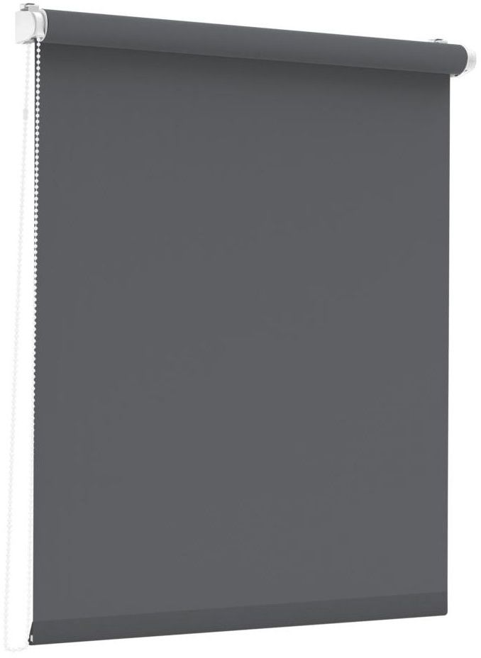 Roleta okienna Albery ciemnoszara 43 x 160 cm Inspire
