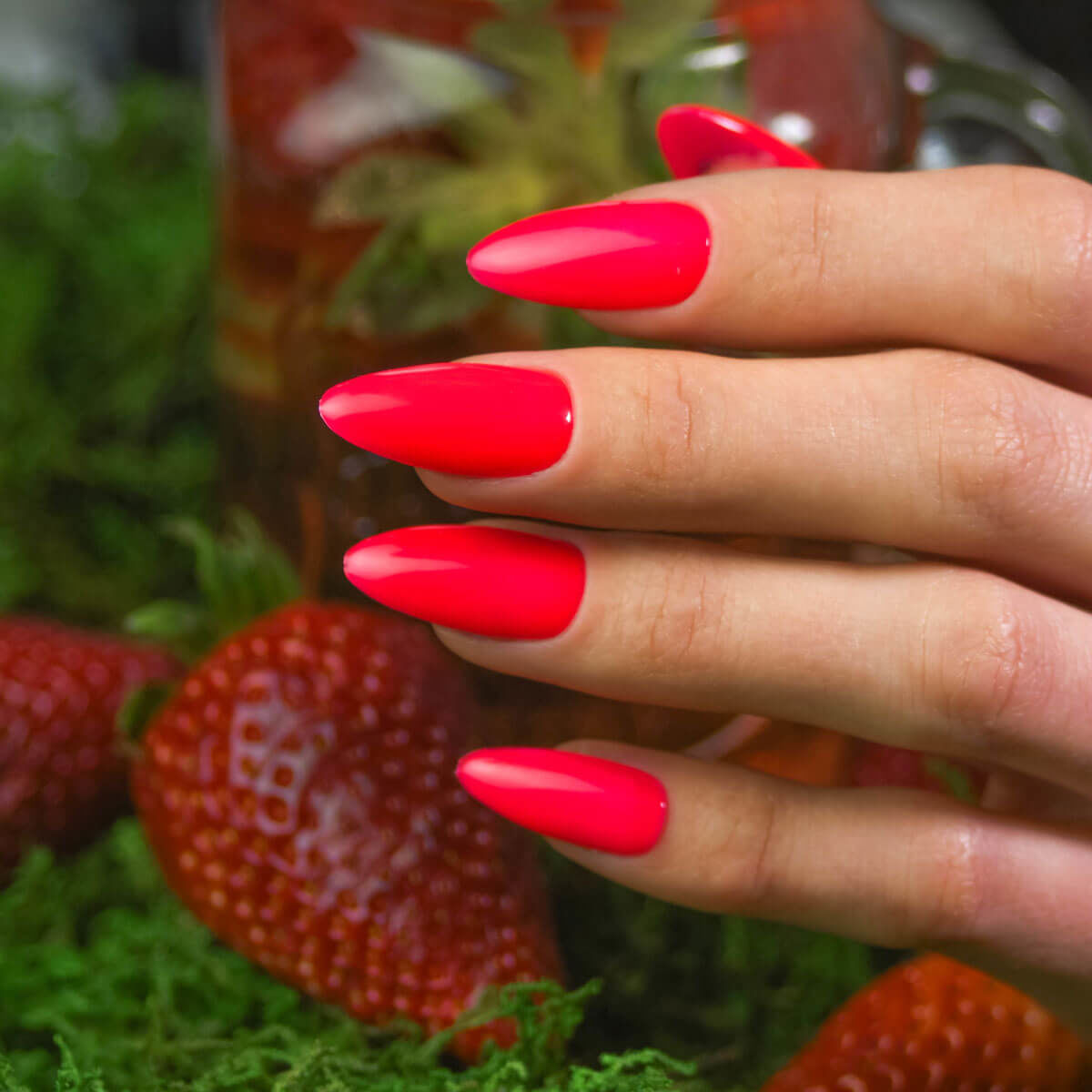 Semilac 571 Neon Strawberry lakier hybrydowy 7ml