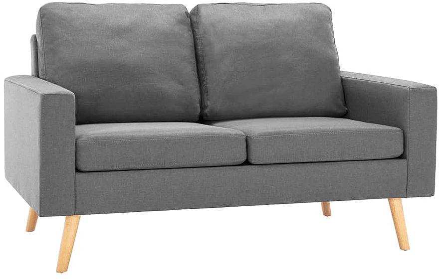 2-osobowa jasnoszara sofa - Eroa 2Q