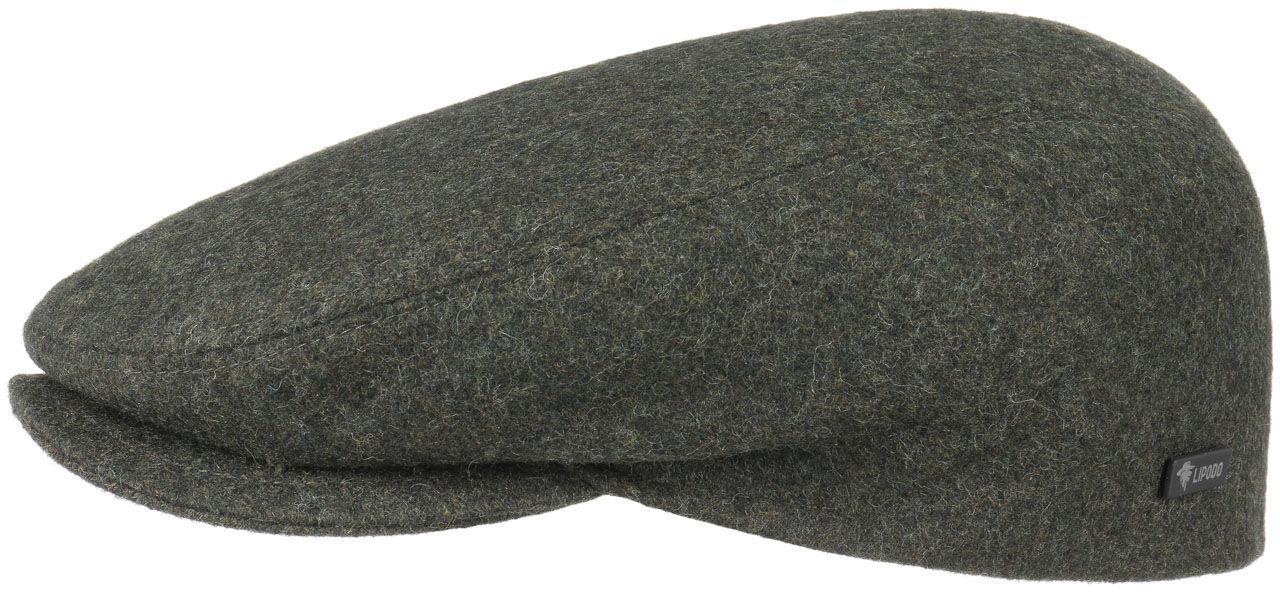Płaski Kaszkiet Sport by Lipodo, oliwkowy, 55 cm