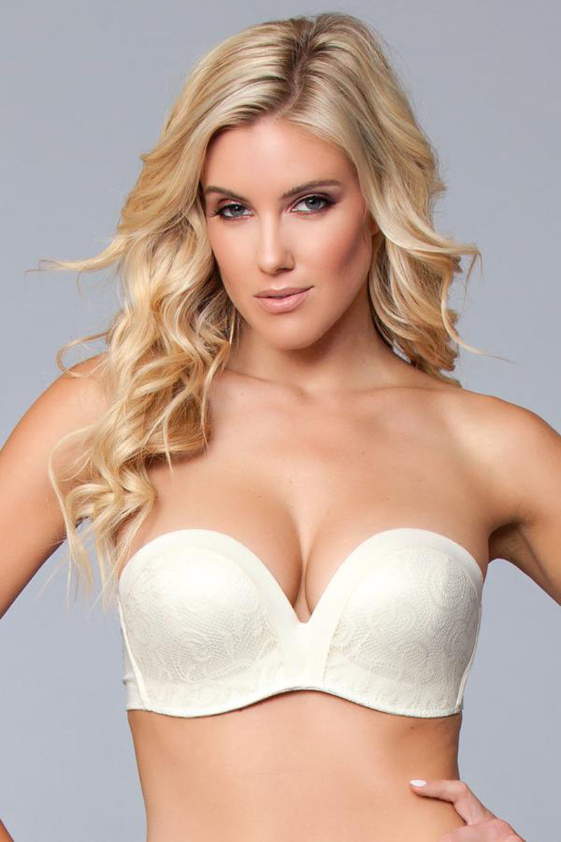 Be Wicked Miracle Push-Up Strapless Bra Nude