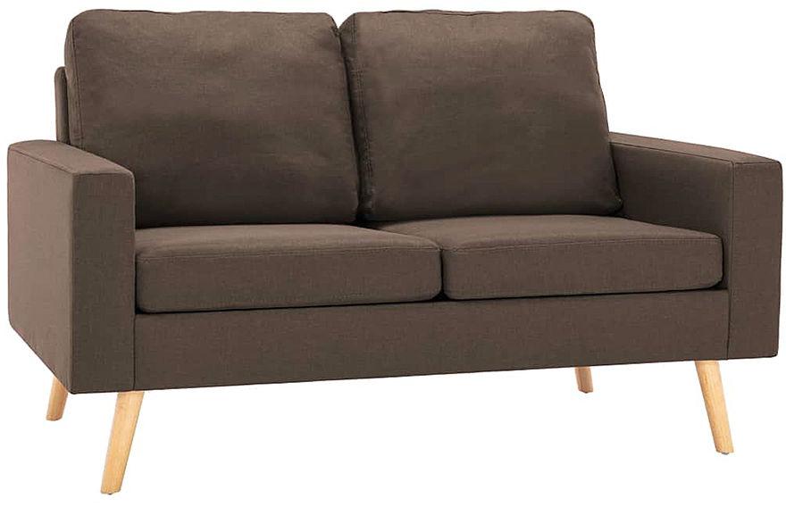 2-osobowa brązowa sofa - Eroa 2Q