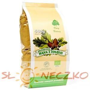 Mąka Z ŻOŁĘDZI bezglutenowa BIO 500 g - DARY NATURY