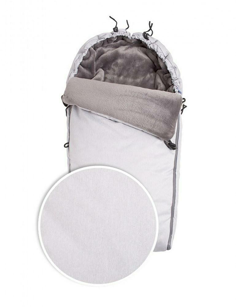 Śpiworek do wózka Cocoon srebrny TDS100C-05