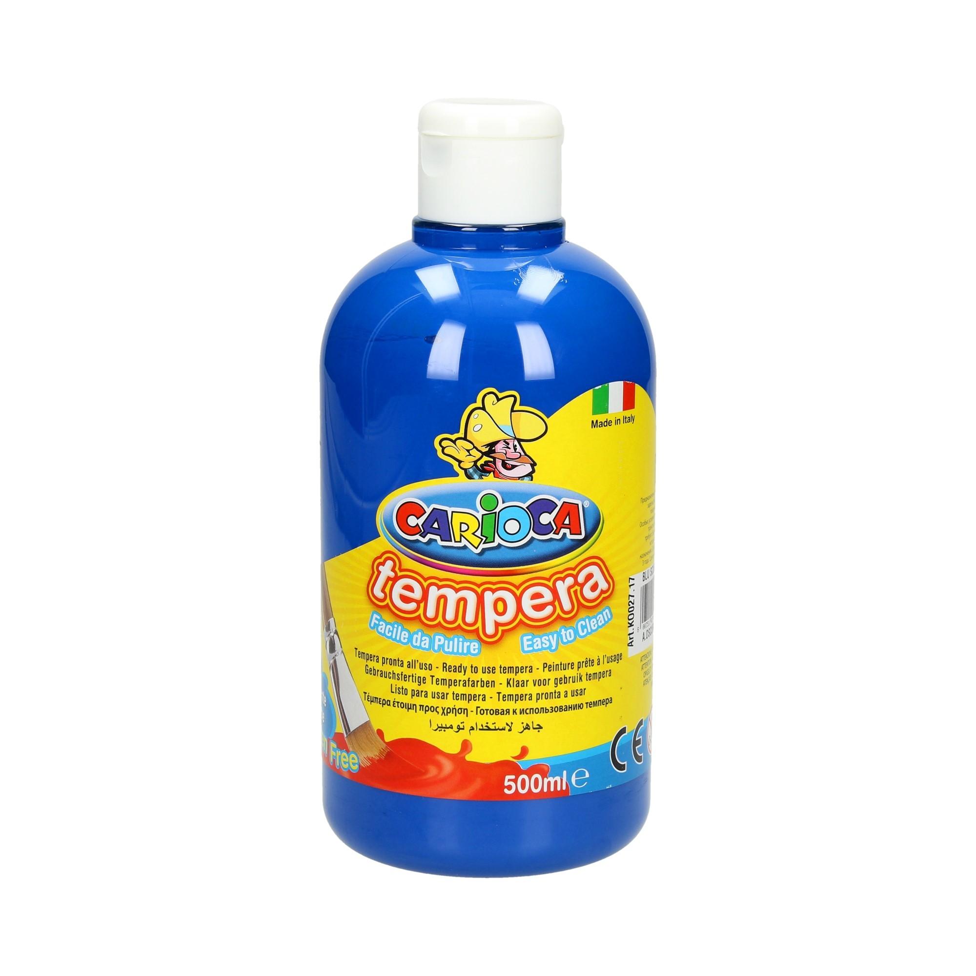 Farba tempera granatowa 500ml Carioca