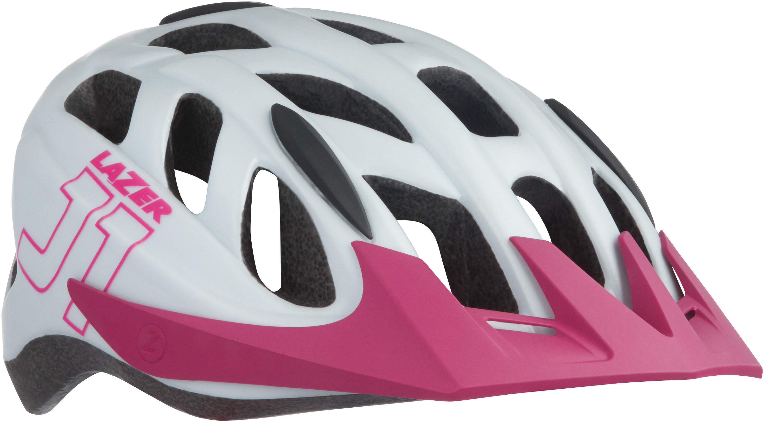 LAZER kask rowerowy dziecięcy/juniorski j1 matte white pink biały-różowy BLC2197885185 Rozmiar: 52-56,lazer-j1-3