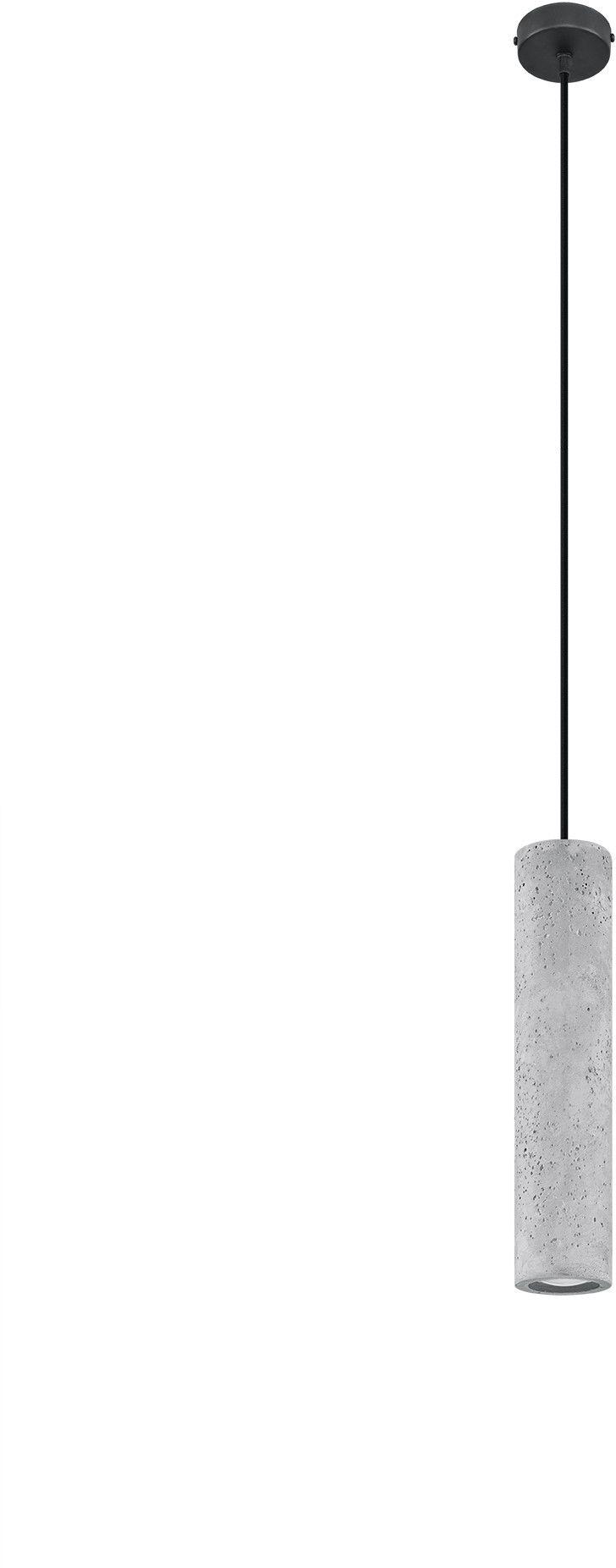 Lampa wisząca betonowa LUVO 1 SL.0653 - Sollux // Rabaty w koszyku i darmowa dostawa od 299zł !