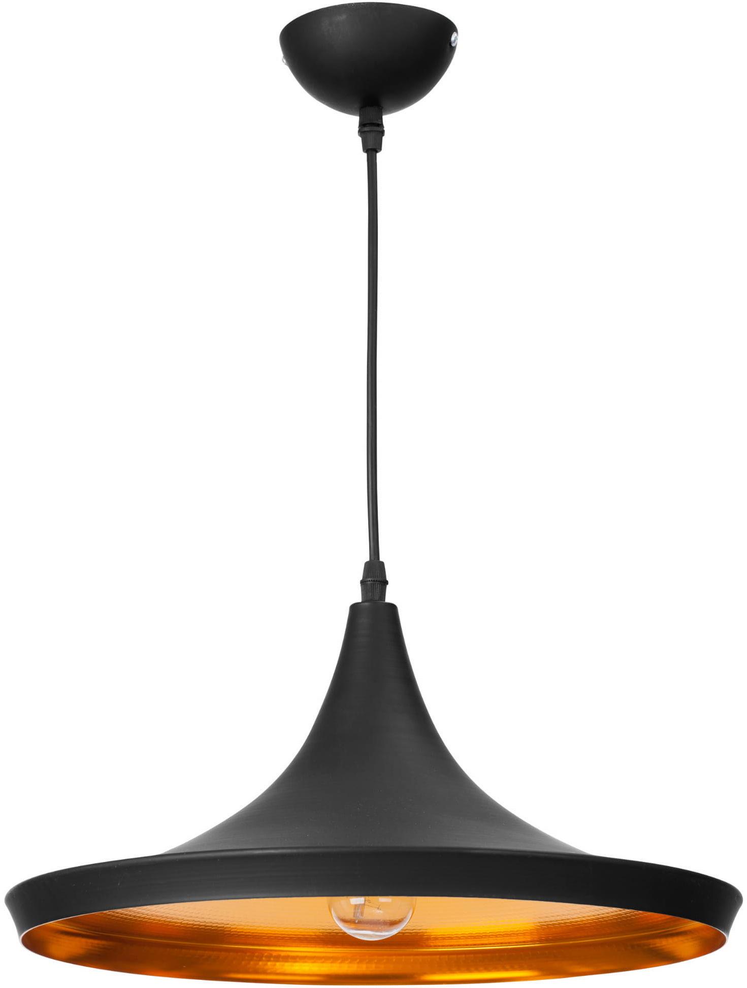 Light Prestige Sona 1 LP-42012/1P CZARNY lampa wisząca nowoczesna 1x40W E27 35cm