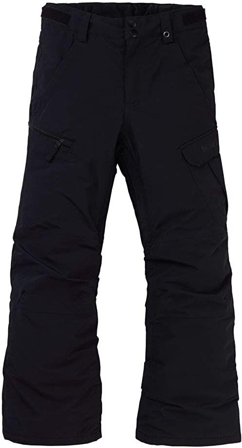 Burton Exile Cargo chłopięce spodnie snowboardowe, True Black, XS