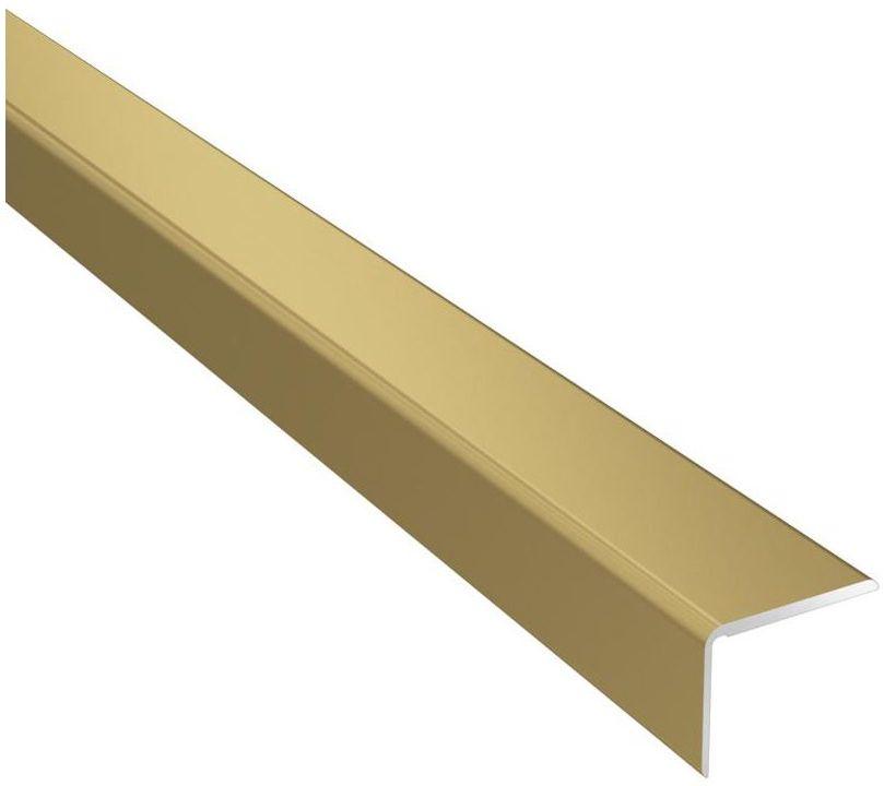 Profil podłogowy schodowy No.27 Złoty 25 x 20 x 1200 mm Artens