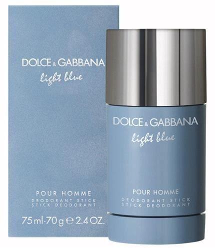 Dolce & Gabbana Light Blue Pour Homme 70 g dezodorant w sztyfcie dla mężczyzn dezodorant w sztyfcie + do każdego zamówienia upominek.
