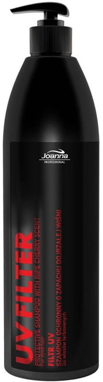 Joanna Pro FILTR UV szampon ochronny 1000ml wiśnia