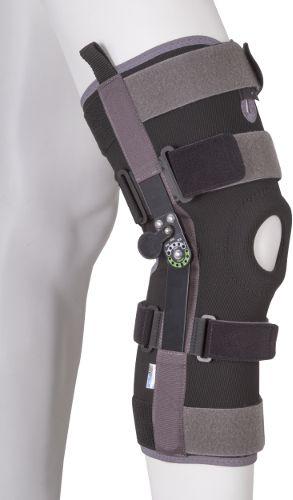Długa orteza - stabilizator kolana z ZEGAREM - regulacją kąta zgięcia (ERH-35)