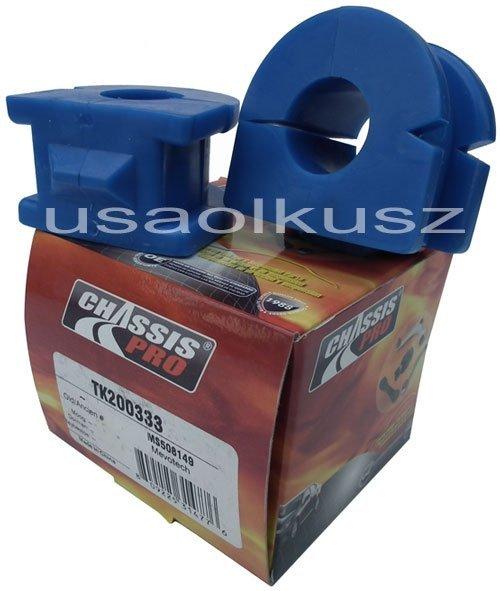 Gumy tuleje stabilizatora przedniego Chevrolet Equinox 2005-2009