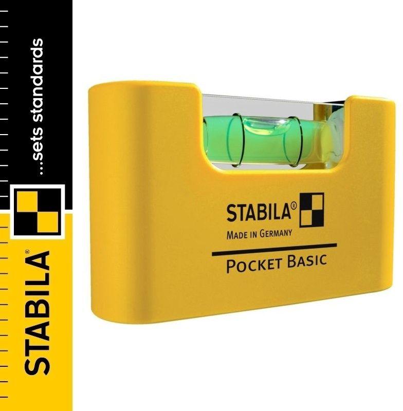 Poziomica kieszonkowa STABILA POCKET BASIC