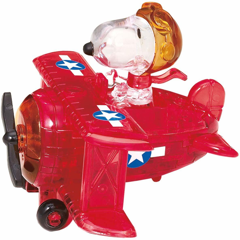 HCM Kinzel Crystal Puzzle 59151 - Snoopy w samolocie