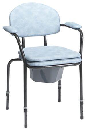Krzesło sanitarne toaletowe 9063 Vermeiren z regulowaną wysokością siedziska