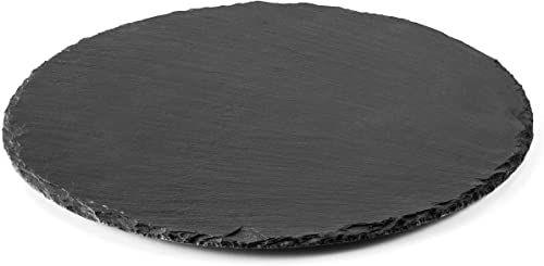 Lacor Okrągła tablica, czarna, 25 cm
