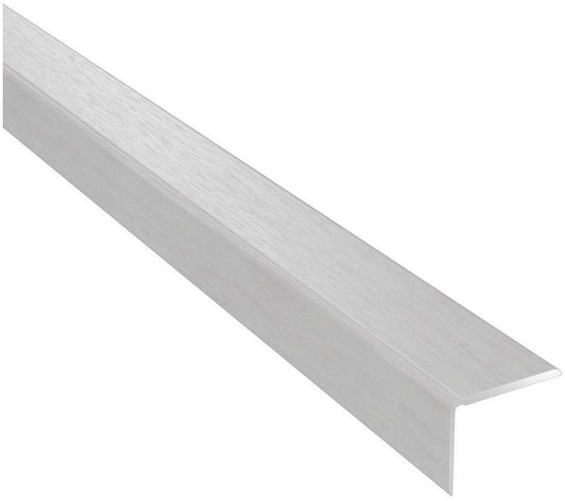 Profil podłogowy schodowy No.01 Biały 25 x 20 x 1200 mm Artens