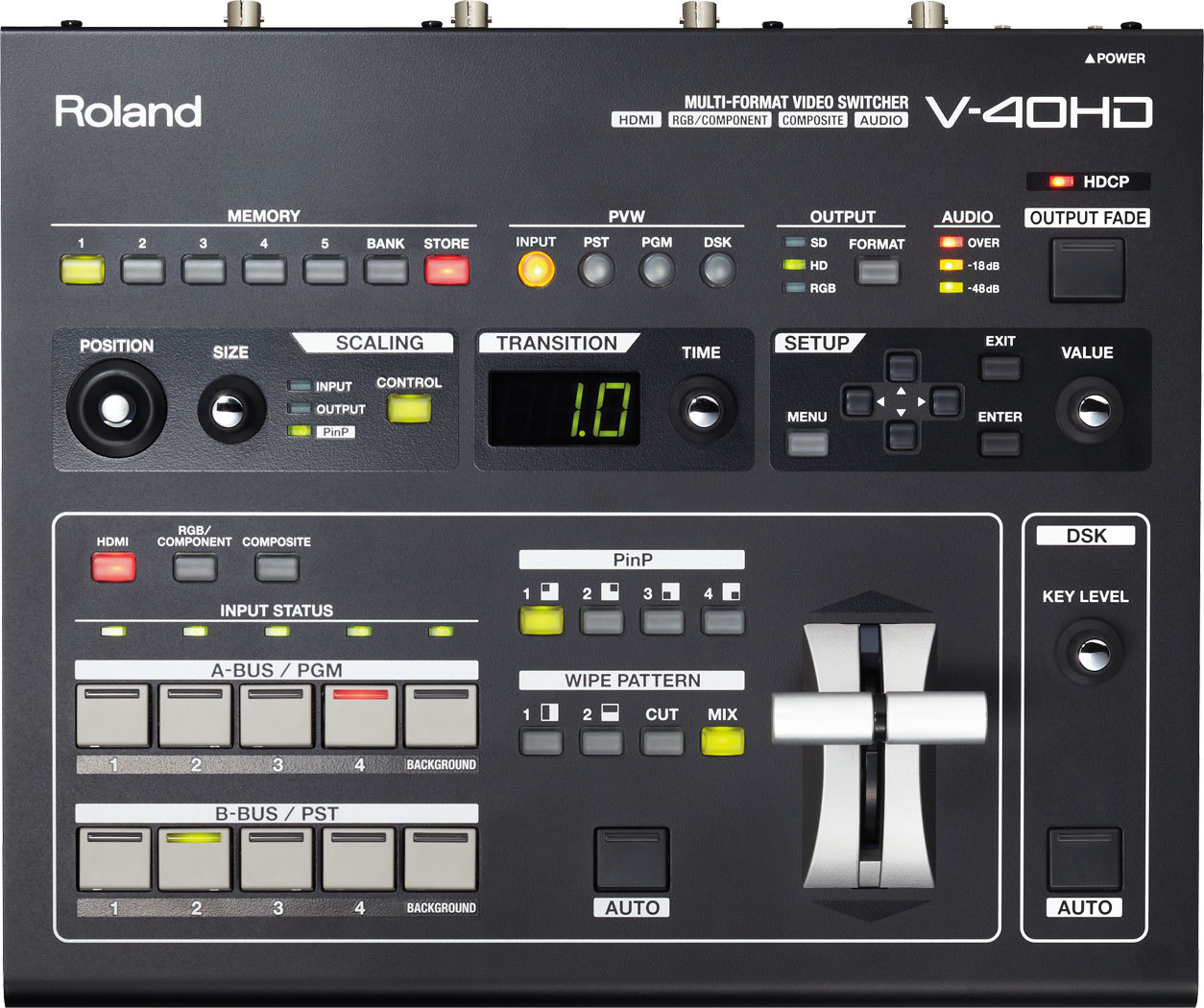 Roland V-40HD - wieloformatowy mikser wideo Roland V-40HD