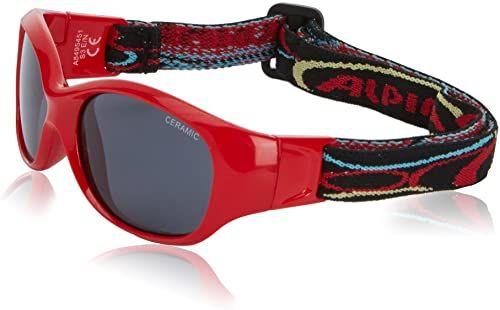 Alpina Sportowe okulary przeciwsłoneczne Flexy - czerwone