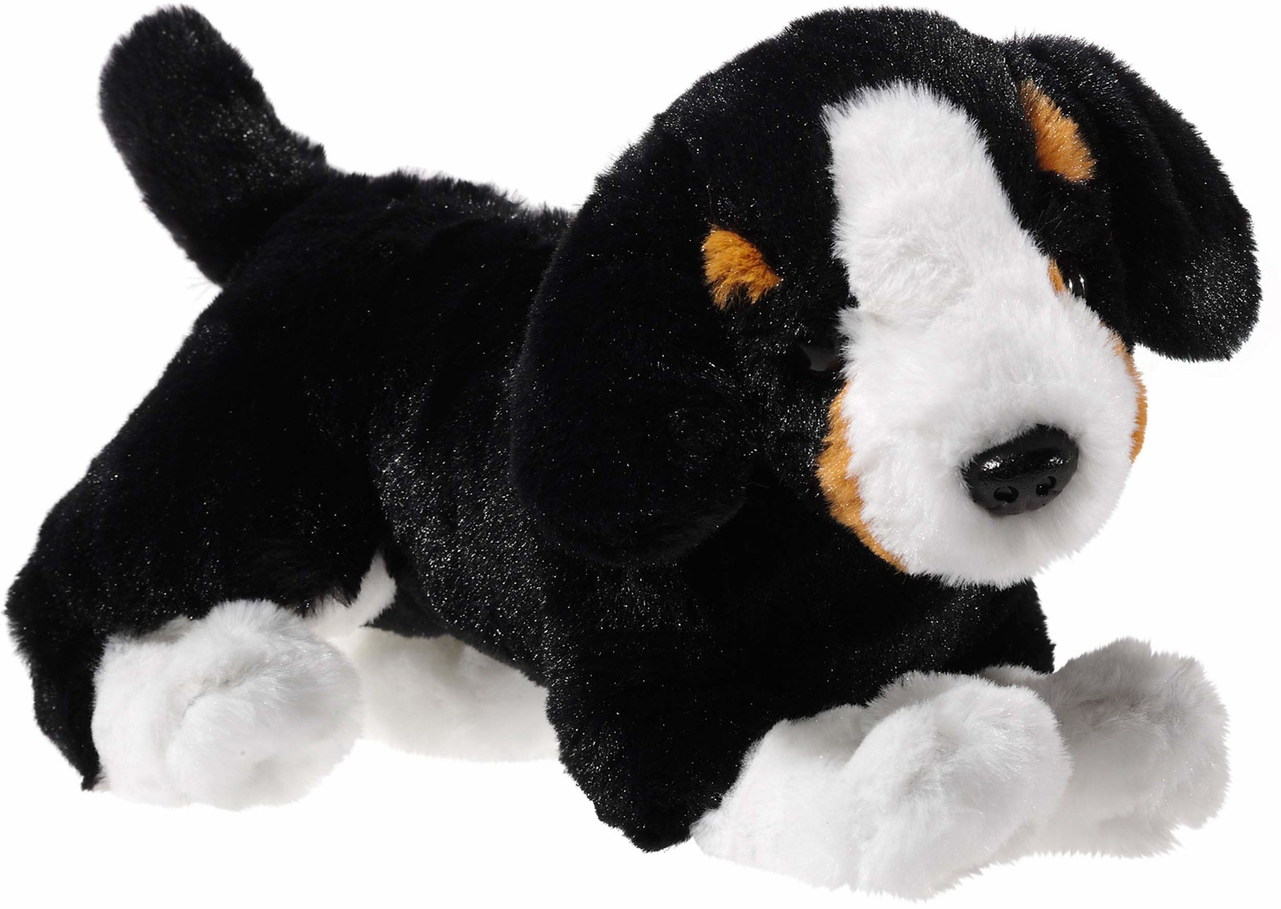 Heunec 301672 pluszowe zwierzątko, pies, berra Sennehund, czarny/brązowy/biały