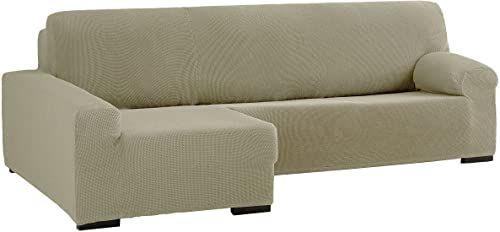 Eysa Cora Bi-elastyczny szezlong, lewy, poliester, bawełna, len, 39 x 35 x 19 cm
