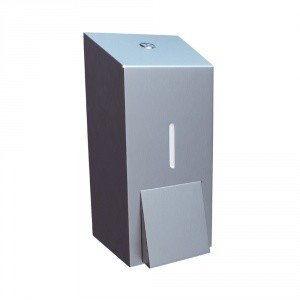 Dozownik do mydła - 400 ml - stal matowa - Merida - DSM102