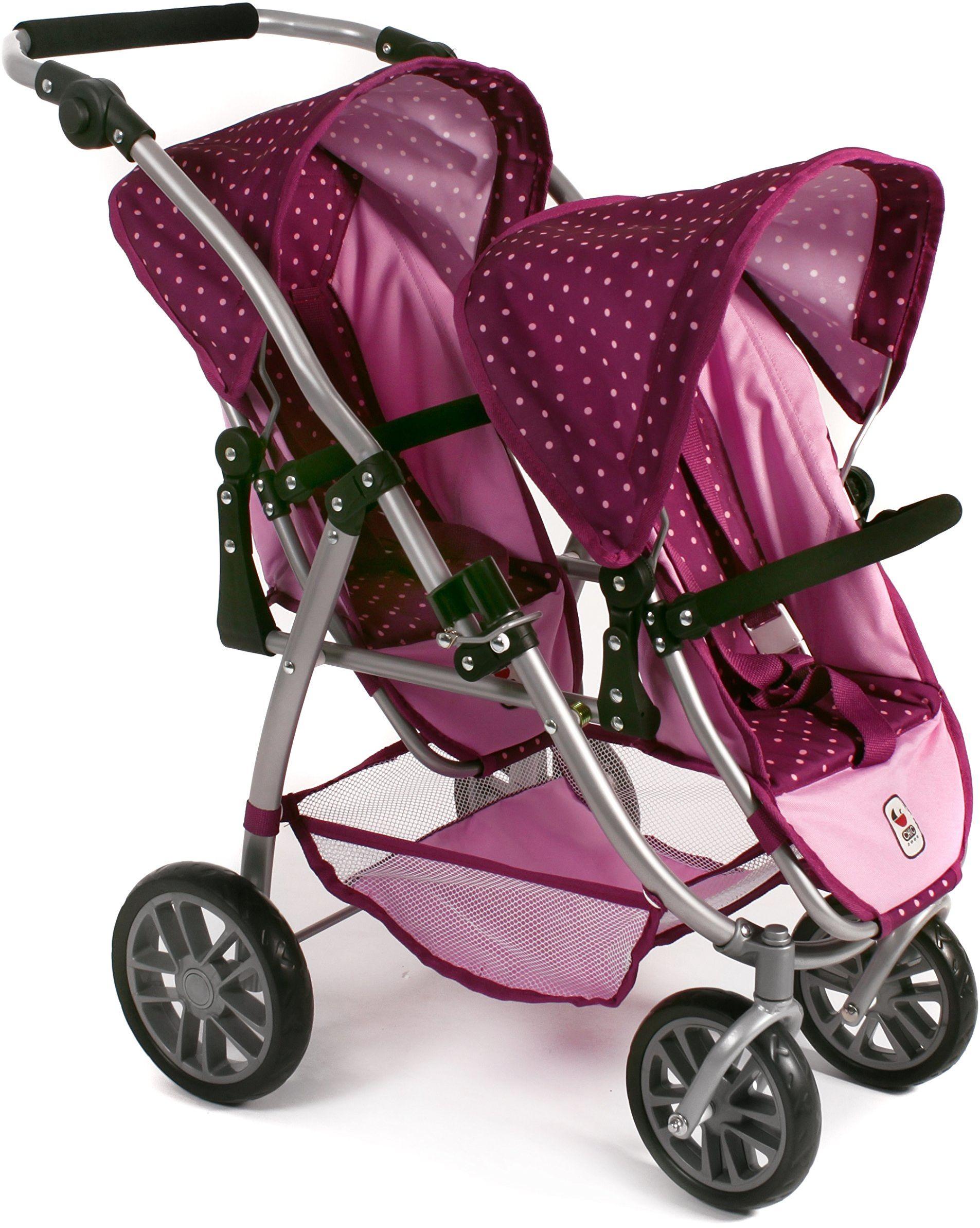 Bayer Chic 2000 689 29 wózek dla lalek, różowy