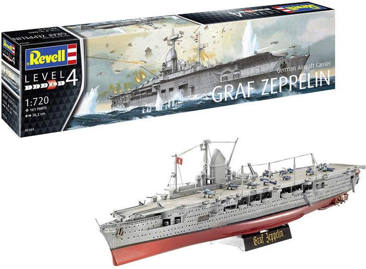 Model plastikowy Niemiecki lotniskowiec Graf Zeppelin Sh