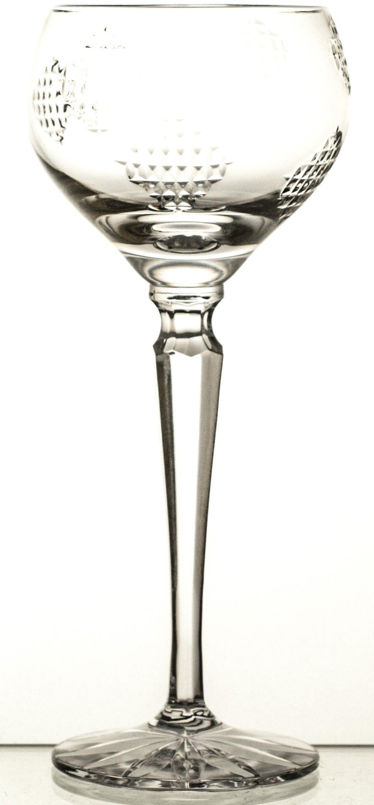 Kieliszek do wina łatki kryształowy 06873