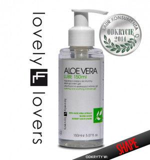 Lovely Lovers Aloe Vera Kojący żel intymny - 150 ml