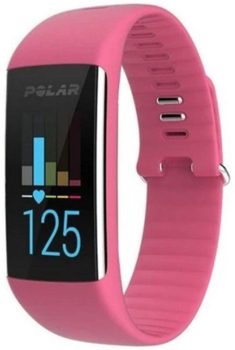 Zegarek fitness Polar A370 różowy S