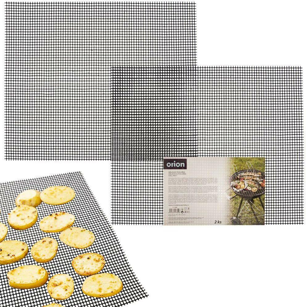 Mata siatka teflonowa nieprzywierająca na grilla do grillowania pieczenia w piekarniku 40x33 cm 2 sztuki