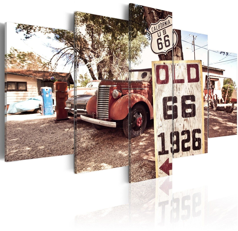 Obraz - california - vintage style
