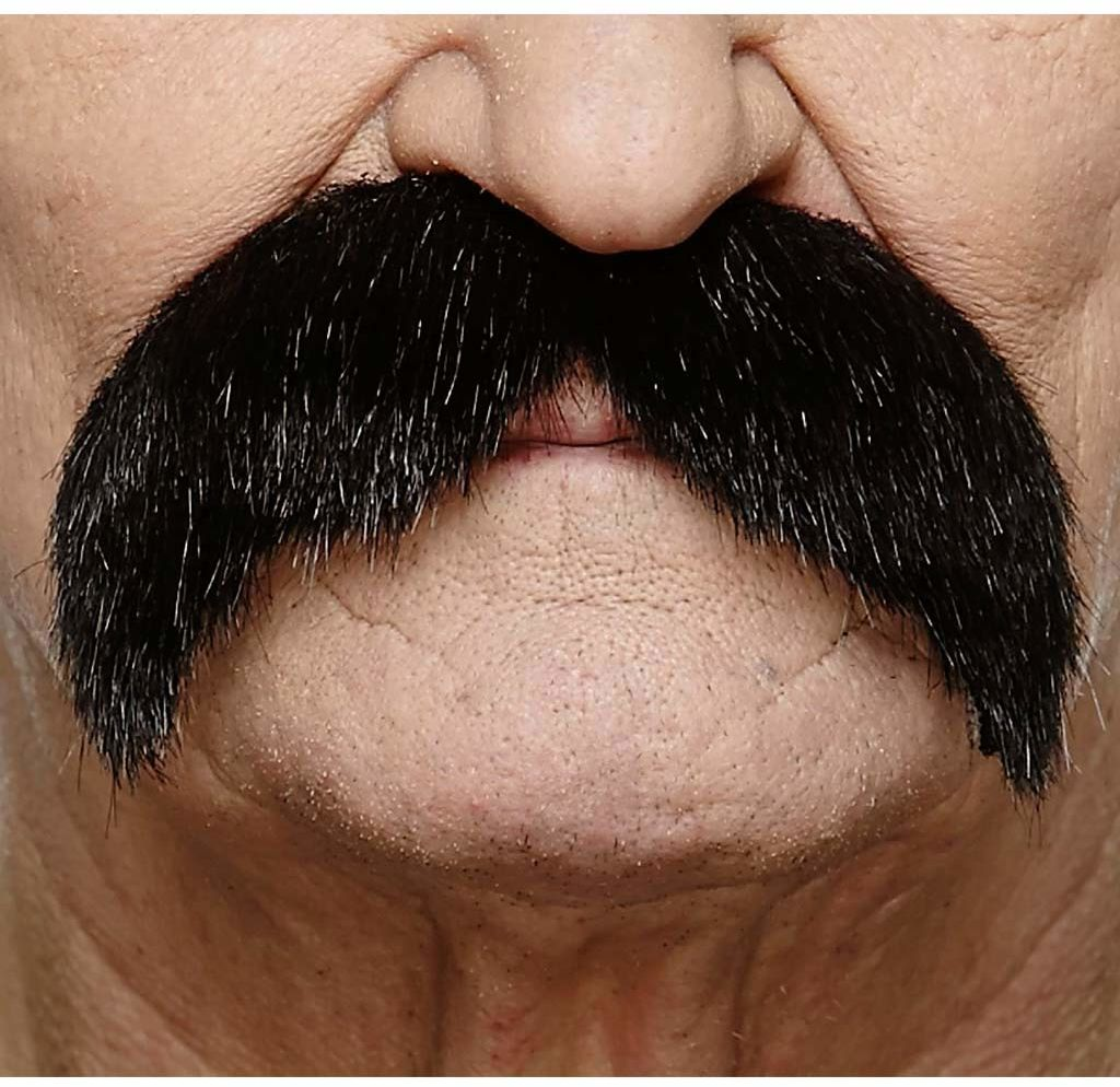 Żywe kostiumy 202989 wąsy, wielokolorowe, jeden rozmiar
