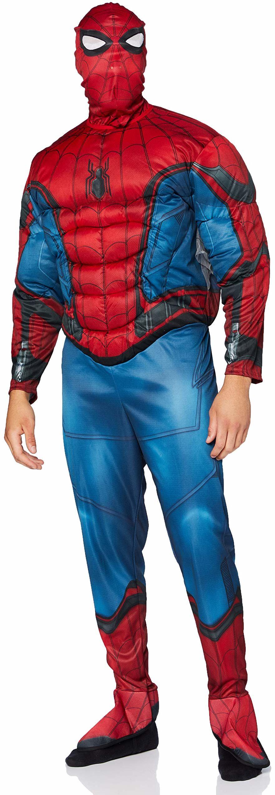 Rubie''s Official Disney Marvel Spider-Man kostium na powrót do domu dla dorosłych, ''Sweats'' luksusowy design, rozmiar dla dorosłych standardowy