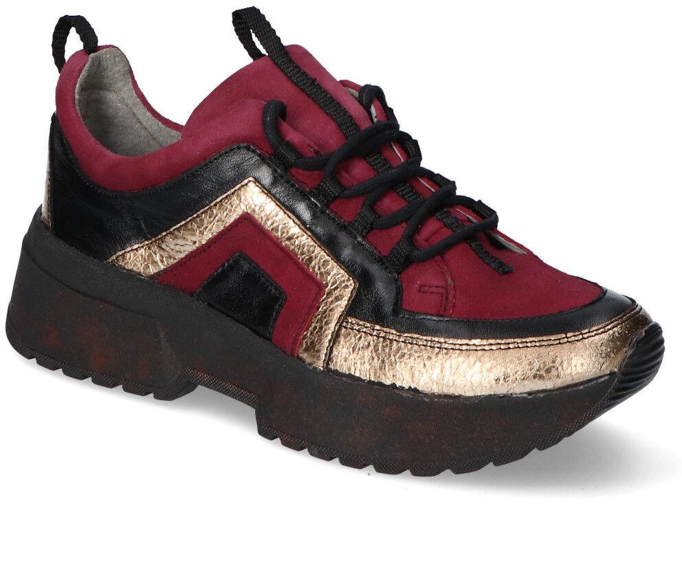 Sneakersy Maciejka 04731-23/00-5 Bordowe zamsz+lico