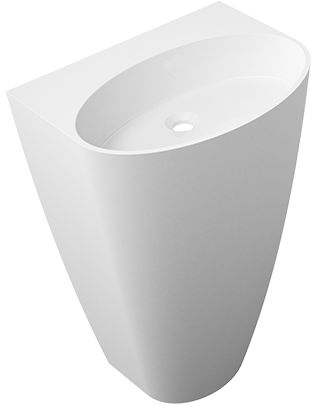 Omnires Siena UW umywalka wolnostojąca bez otworu biały połysk SienaUWBOBP