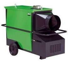 Nagrzewnica olejowa powietrza Remko CLK 170-RV wymiennikowa