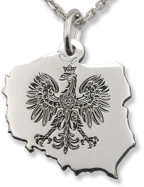 Wisiorek srebrny orzeł-5