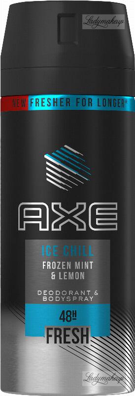 AXE - ICE CHILL - DEODORANT & BODYSPRAY - Dezodorant w aerozolu dla mężczyzn - Mrożona Mięta i Cytryna - 150 ml