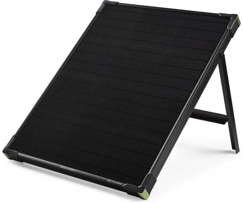 Goal Zero Boulder 50 - mobilny, wytrzymały panel solarny z podpórką.