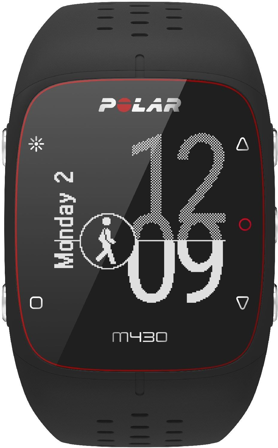 Zegarek sportowy Polar M430 czarny M/L