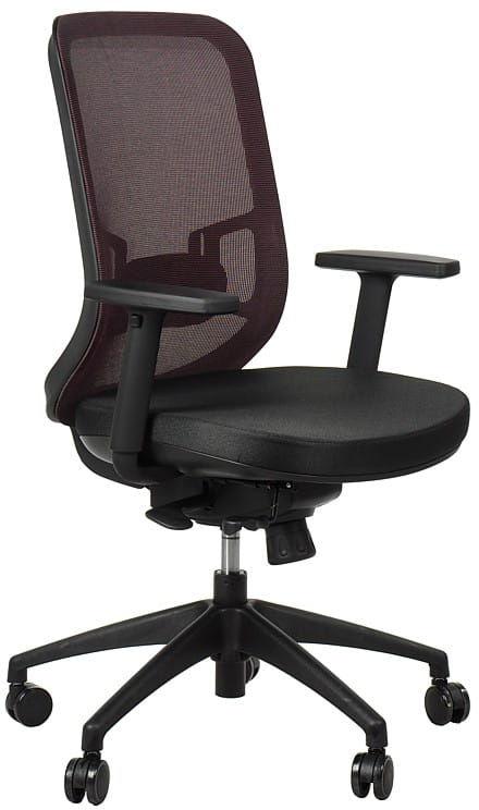 Krzesło obrotowe biurowe GN-310/BORDO z wysuwem siedziska