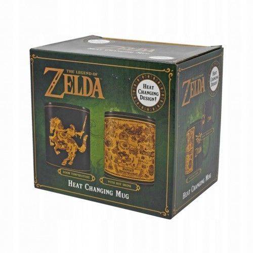 Kubek Termoaktywny Zelda (Mapa)