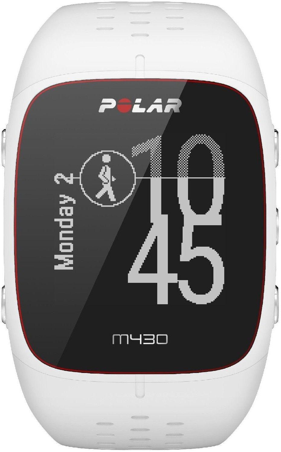 Zegarek sportowy Polar M430 biały M/L