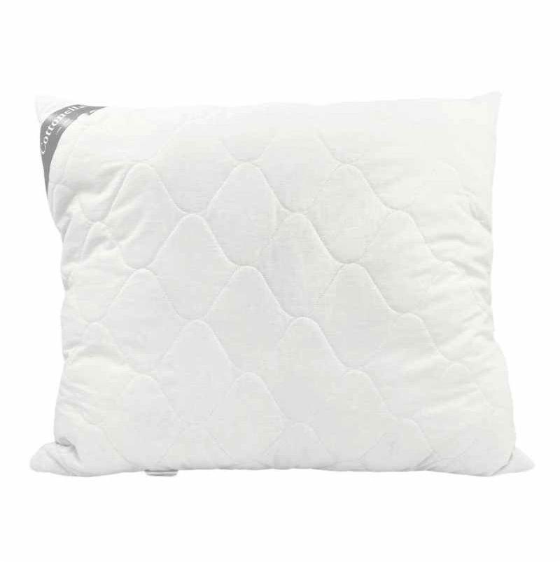 Poduszka bawełniana Cottonella 70x80 pikowana z zamkiem