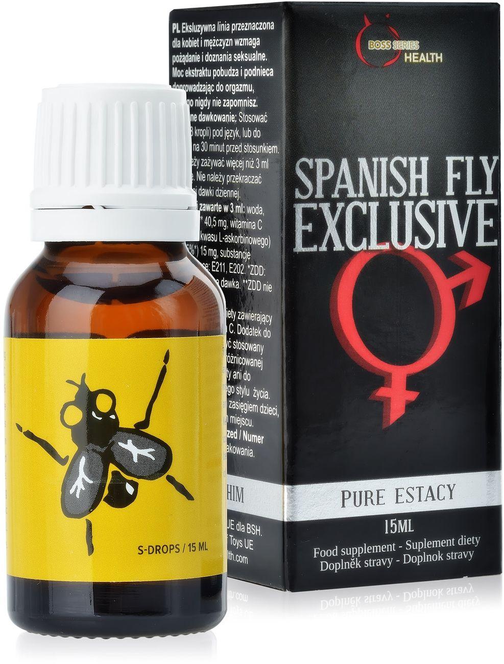 SUPLEMENT DIETY SPANISH FLY EXCLUSIVE  SILNY ELIKSIR MIŁOŚCI DLA PAR PODNOSZĄCY LIBIDO POTĘGUJĄCY POŻĄDANIE  78629807